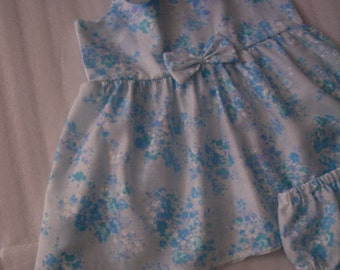 Cute Toddler dress with Diaper Cover
