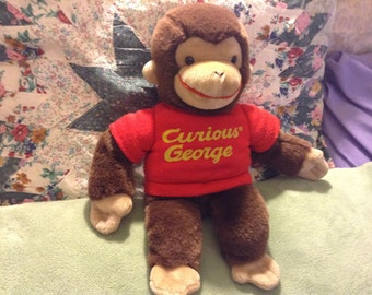 Gund Stuffed Curious George Monkey Plush