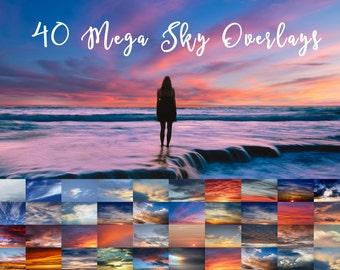 40 Mega Sky Overlays