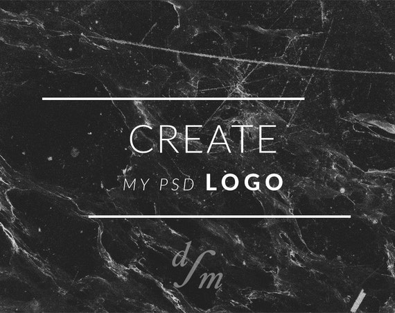 Create my logo for me from Instant Download Logo Photoshop Template ...