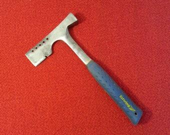 Vintage Estwing Roofing Hatchet Hammer E 3-S Ever Grip