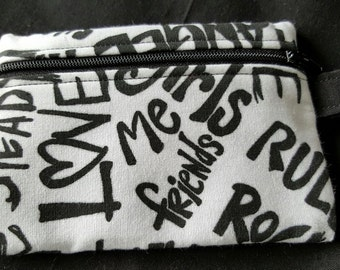 Small Zippered Pouch