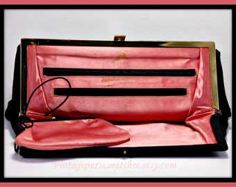 Vintage Koret Evening Clutch,Vintage Evening Clutch,Vintage Evening Bag,Vintage Koret Handbag,Vintage Handbag,Julius Garfinkel,Vintage Purse