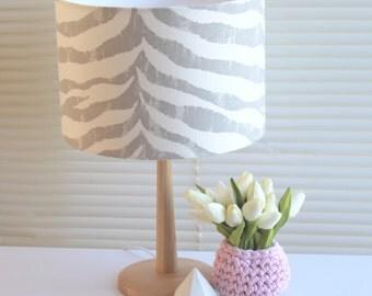 Zebra Lampshade