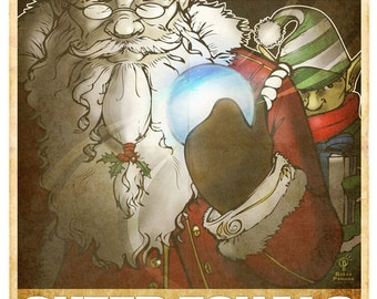 Santa Propaganda Poster #3
