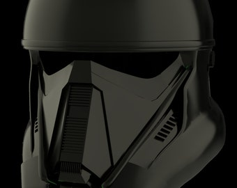 Death Trooper Helmet from Star Wars: Rogue One for 3D-printing