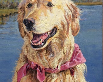 Custom portrait or your dog, cat, horse or any animal!
