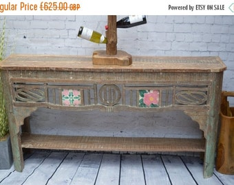 Shop Sale Reclaimed Wood Console Table