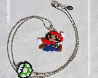 Necklace super mario