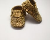 Leopard Baby Moccasins, Leather Moccasins, baby shoes, soft soles, toddler moccasins