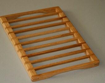Oak Trivet for your hot dishes or a cooling trivet for your laptop computer