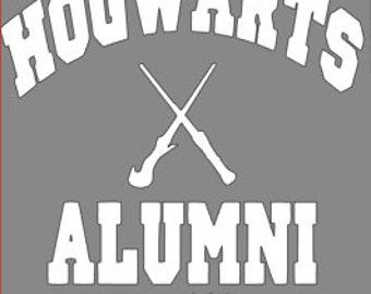 Hogwarts alumni sticker