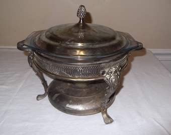 Items Similar To Buffet Warmer Fire King Vintage Chafing