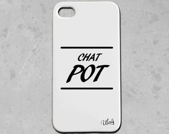 Iphone cat POT case