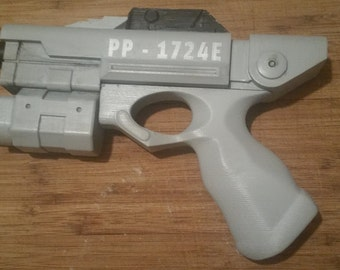 River Song Alpha Meson Blaster Kit 3D Printed, Doctor Who, Cosplay