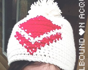 Guild Wars 2 Commander Tag Hat Tuque with Pompom Crochet (All Sizes and Colours Available)