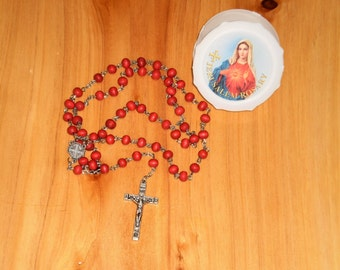 Rosary Necklace, Cross Necklaces Religious ,Jesus cross necklace