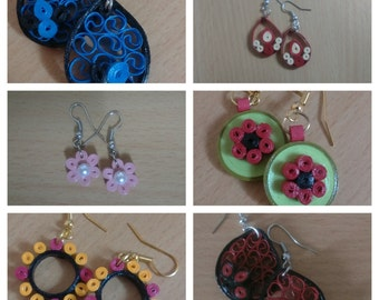 Quilled Ear Hanging
