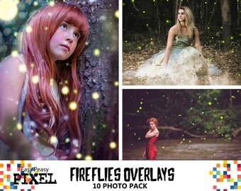 FIREFLIES OVERLAYS, PHOTOSHOP Overlays, Photoshop Overla, Firefly Overlays, Fireflies, Firefly, Fairy Tale