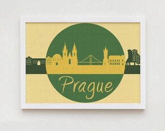 Prague art wall decor home design interior