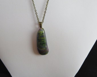 Greenish Swirl Pendant