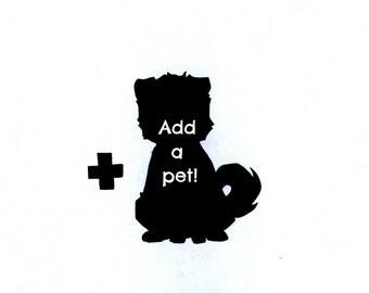Add a Pet to a Custom Portrait!