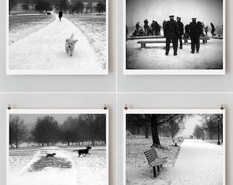 London Photography, Set of 4 prints, London Print, wall decor, fine Art prints, fine art photography, 5 x 7 prints, 8 x 10 prints