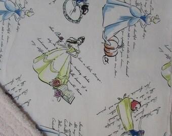 Vintage Disney Princess baby blanket