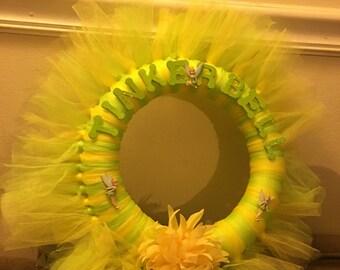 9.8 in tinkerbell tutu wreath