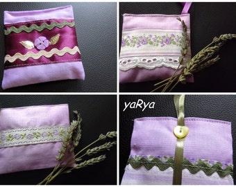 Sachet with lavender