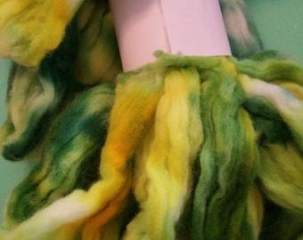 4 ounces of 70/20/10% Merino/German Angora Rabbit/Bombyxx Silk