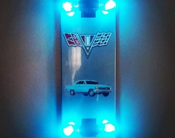 Skateboard Lamps skateboard lamp | etsy