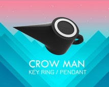 Crow man key-ring/Pendant from the Monument Valley