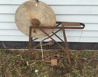 Pedal Powered Sharpening and Grinding Stone or Wheel