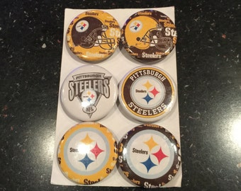 Steelers Button Magnets
