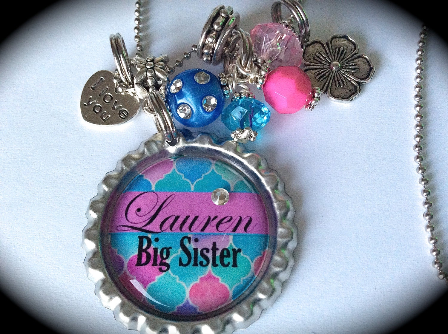 big sister necklace for kids little big sister jewelry