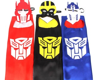 Transformer Cape, Bumble Bee Transformer, Optimus Prime Transformer, Transformer Birthday, Transformer Mask, Transformer Party Favors
