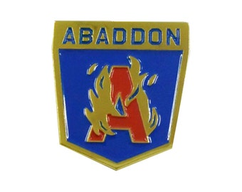 1 inch Abaddon Anomaly Pin Unofficial