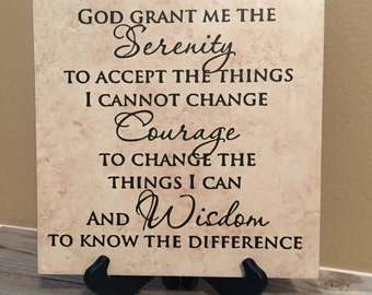 "Shop ""serenity prayer"" in Home & Living"