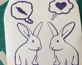 Bunny Love Decal