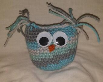 Camo Blue Owl