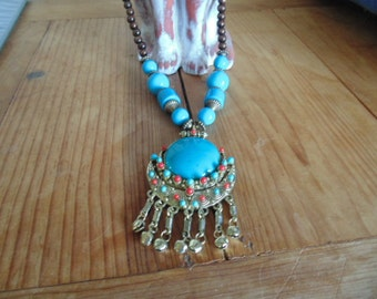 Peruvian necklaces. Hand made.