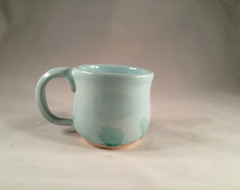 Vintage Blue coffee cup