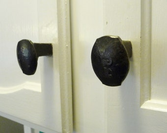 Railroad Spike Cabinet Knob, Drawer Pull, Buy 5 Get 1 Free