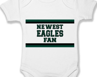 FLASH SALE Baby Onesie Philadelphia Eagles Fan Custom Bodysuit