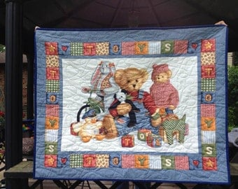 Teddy Bears and Toys Quilt