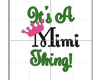 It's a Mimi thing 4x4 emb