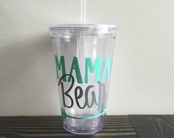 Mama Bear Tumbler-16 Oz