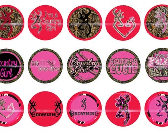 Camo bottlecap images  Country cutie Digital images  Browning images  Pink camo