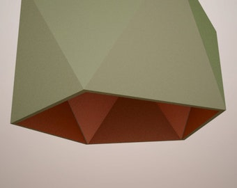 DIY PAPER LIGHTING - Eden / Handmade&Printable Basic Shape Lamp Shade